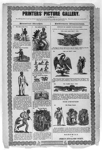 Printers' Picture Gallery. Memorial of the American Anti-Slavery Society