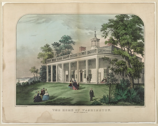 The home of Washington, Mount Vernon, Va.