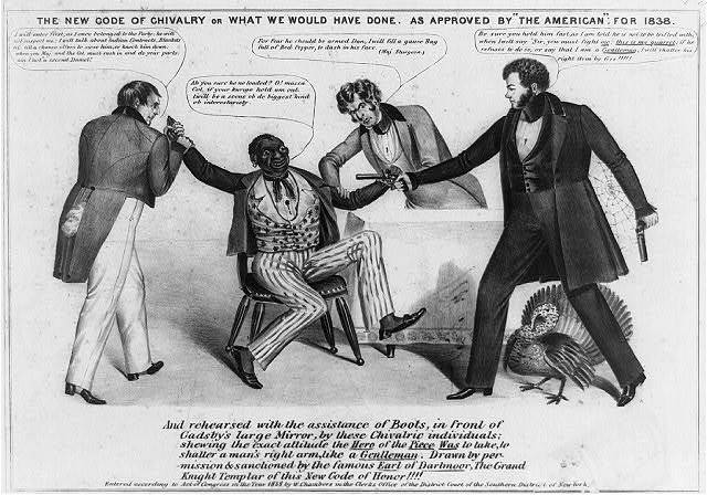 """The new code of chivalry or what we would have done.  As approved by """"The American:"""" For 1838"""
