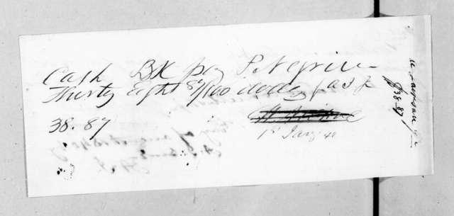 Andrew Jackson, Jr. to William Nicol, December 24, 1839