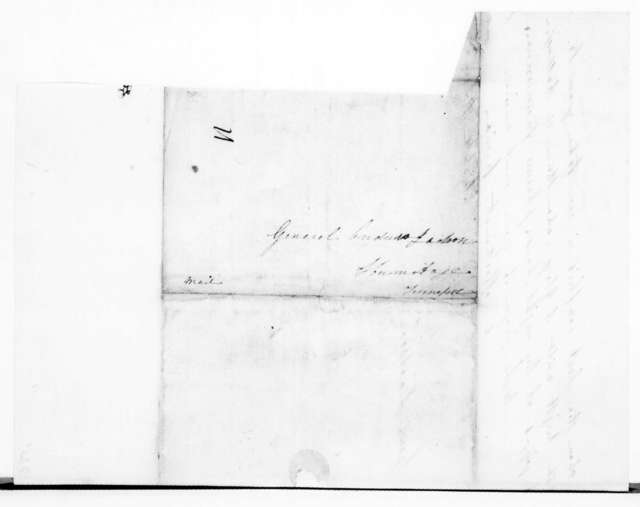 Elizabeth Dixon Love to Andrew Jackson, March 5, 1839