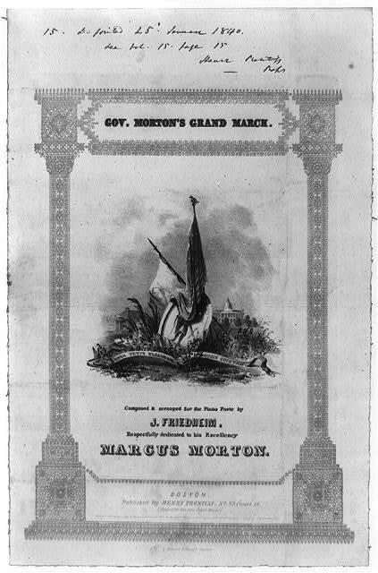 Gov. Morton's grand march