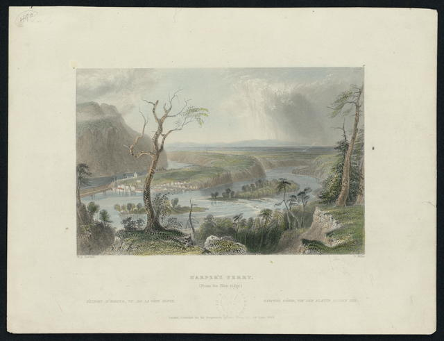 Harpers Ferry. (From the Blue Ridge).