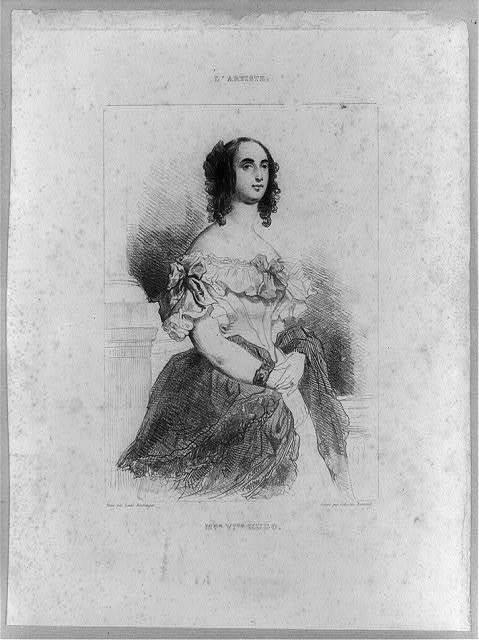 Mme. Vtor. Hugo / peint par Louis Boullanger ; gravé par Célistin Nanteuil.