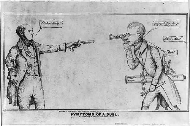 Symptoms of a duel