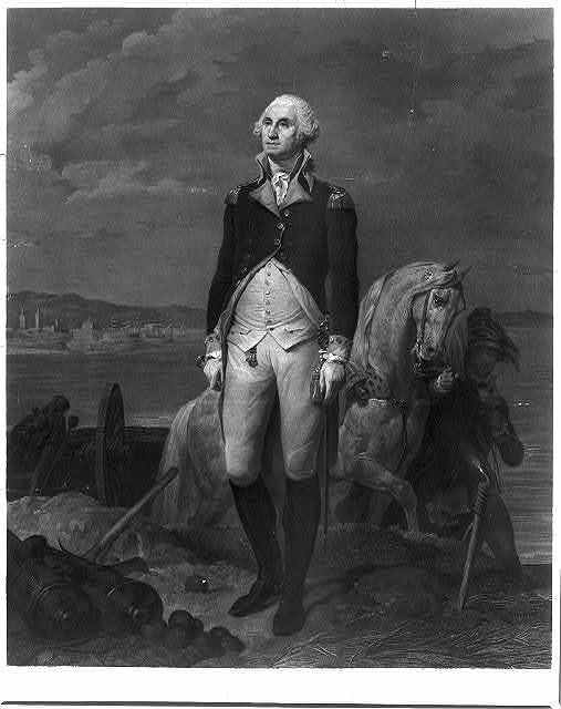 Washington / painted by Cogniet, 1836 ; engraved by Laugier, 1839.