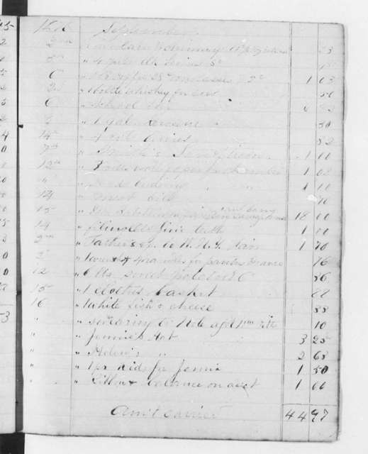 Account Books (by Douglass), 1840-1881