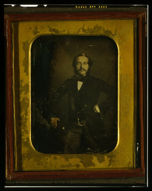 [Alfred Jones, three-quarter length portrait, standing]