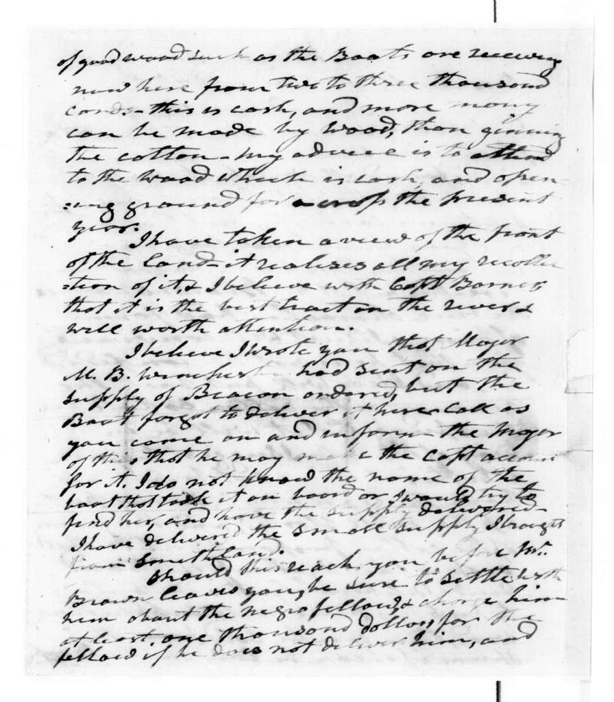Andrew Jackson to Andrew Jackson, Jr., January 3, 1840