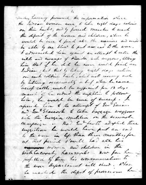 Andrew Jackson to Francis Preston Blair, July 28, 1840