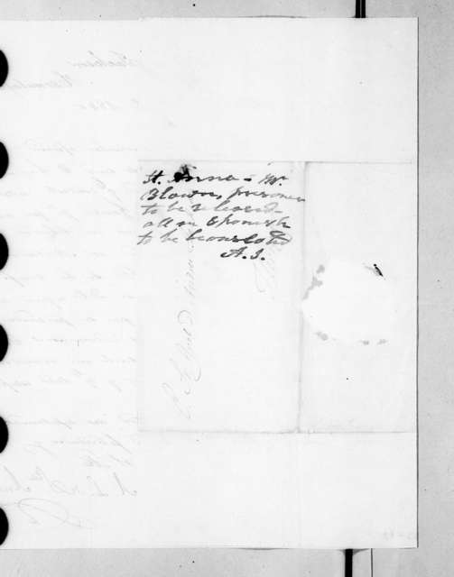 Antonio Lopez de Santa Anna to Andrew Jackson, October 31, 1840