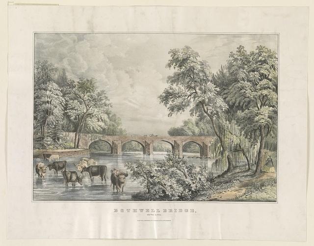 Bothwell Bridge, on the Clyde