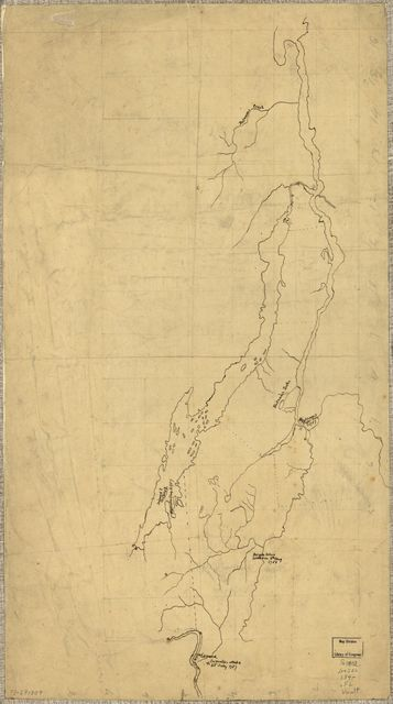 [Fort Edward to Putnam's Creek, incidents of the French War.