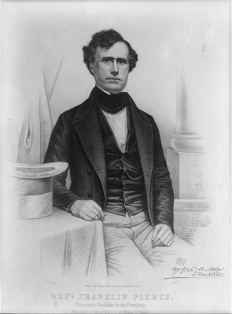 Genl. Franklin Pierce, democratic candidate for the presidency