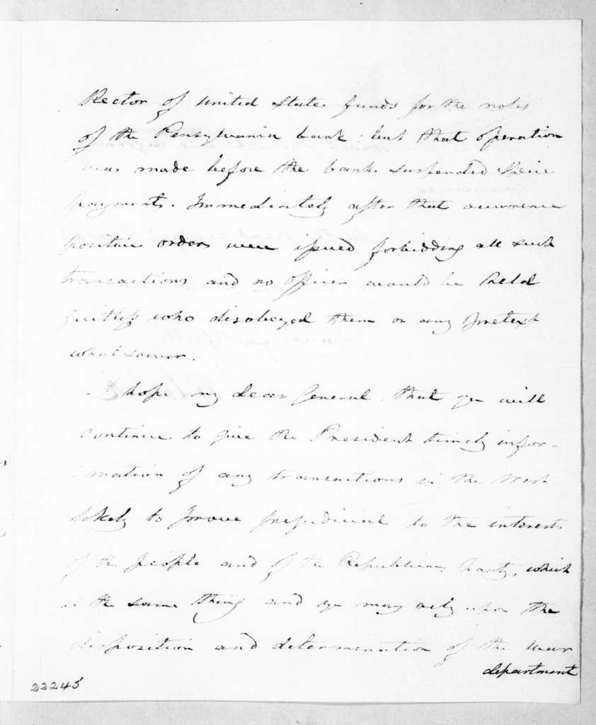 Joel Roberts Poinsett To Andrew Jackson April 25 1840 Picryl Public Domain Image