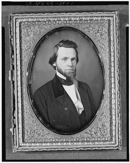 [John Sherman, head-and-shoulders portrait, full face]