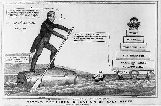 Matty's perilous situation up Salt River