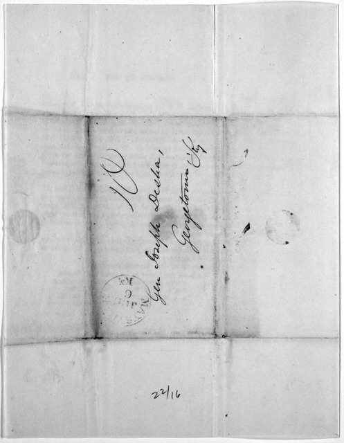 Maysville, Ky. July [blank], 1840. Dear Sir: In pursuance of a recommendation of the Maysville and Mason County Democratic association, a public meeting of the friends of the present National administration from the neighboring counties of Kentu