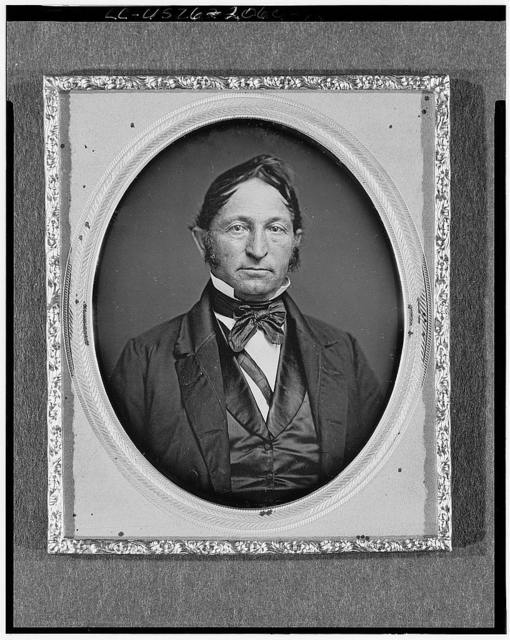 [Mr. Miller, head-and-shoulders portrait, facing front]