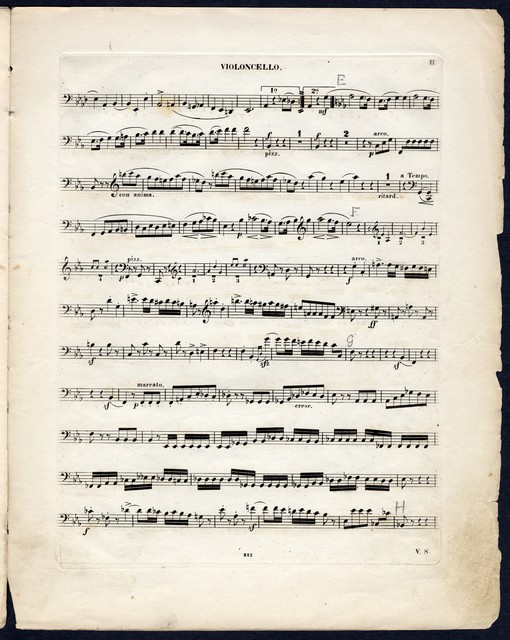 Quartett fur pianoforte, violoine, viola, u. violoncello Op. 47