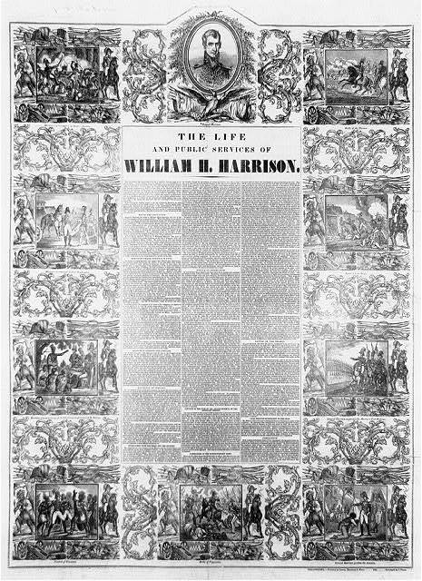 The life and public services of William H. Harrison / stereotyped by J. Fagan.