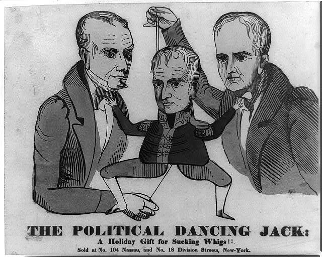 The political dancing Jack: a holiday fift for sucking Whigs!!
