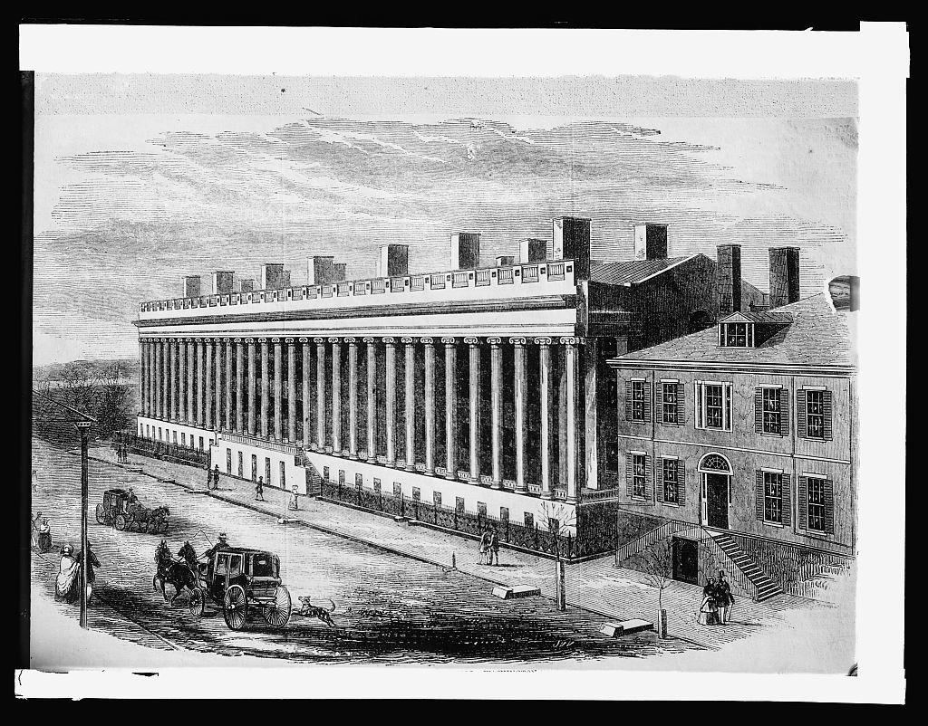 U.S. Treasury, [Washington, D.C.], 1840 to 1855