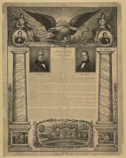 Westward the march of empire takes it flight / lith. by Baker, 8 Wall St., N.Y. ; designed, written, & published by B.O. Tyler, Albany, N.Y.