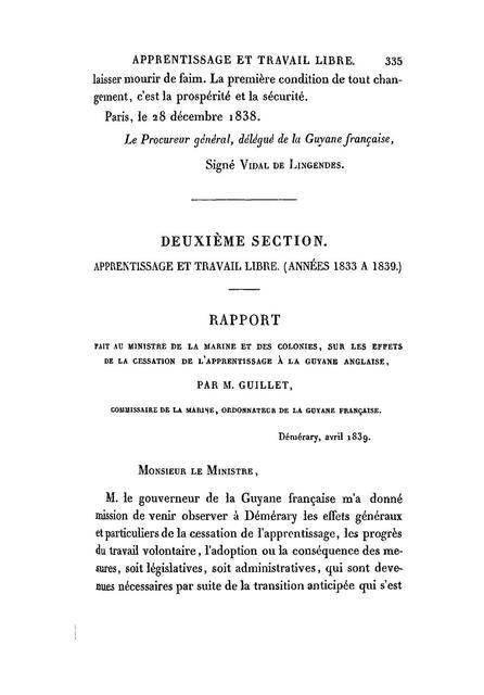Abolition de l'esclavage dans les colonies anglaises /