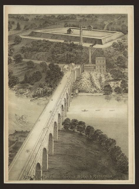 High Bridge and high service works and reservoir