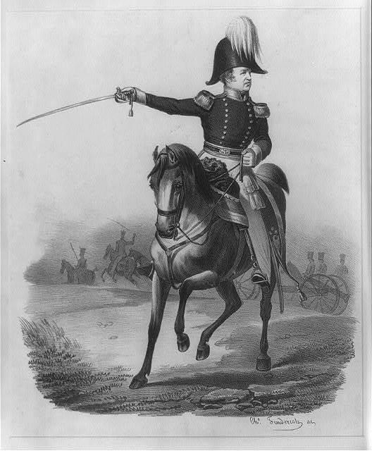 [Major Gen'l. A. Macomb] / Chs. Fenderich del.