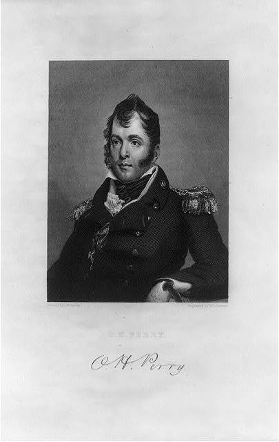 O.H. Perry / painted by J.W. Jarvis ; engraved by W.G. Jackman.