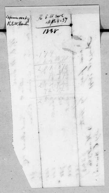Samuel Hunt & Co. to Ralph Eleazer Whiteside Earle, January 1, 1841