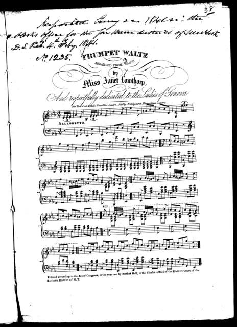 Trumpet waltz