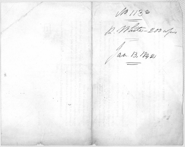 Whereas, I Thomas White, late of Mount Pleasant, in the County of Jefferson, and State of Ohio, did obtain letters patent of the United States, for certain improvements in a machine for finishing silk, either for the loom or needle designated an