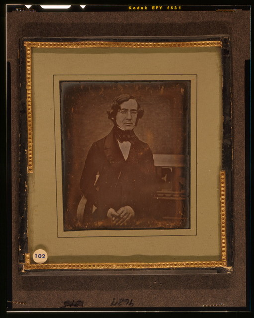 [William Young McAllister, three quarter length portrait, facing front