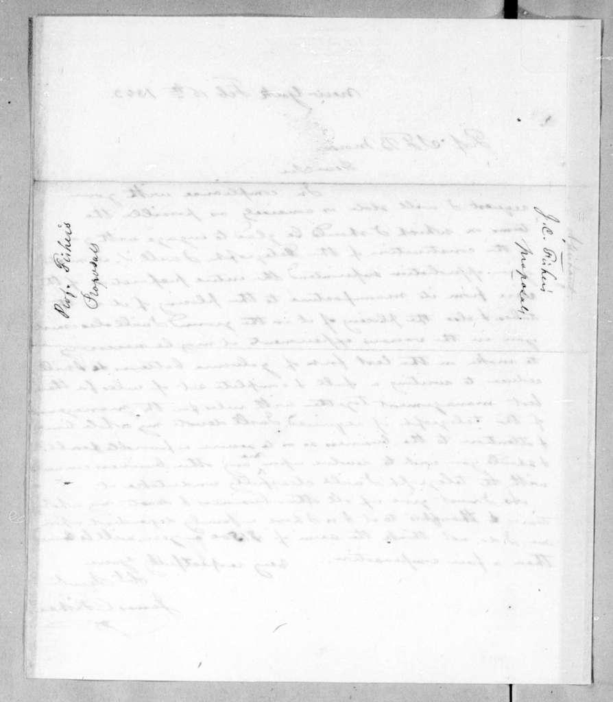 Bound volume---20 June 1842-12 September 1843