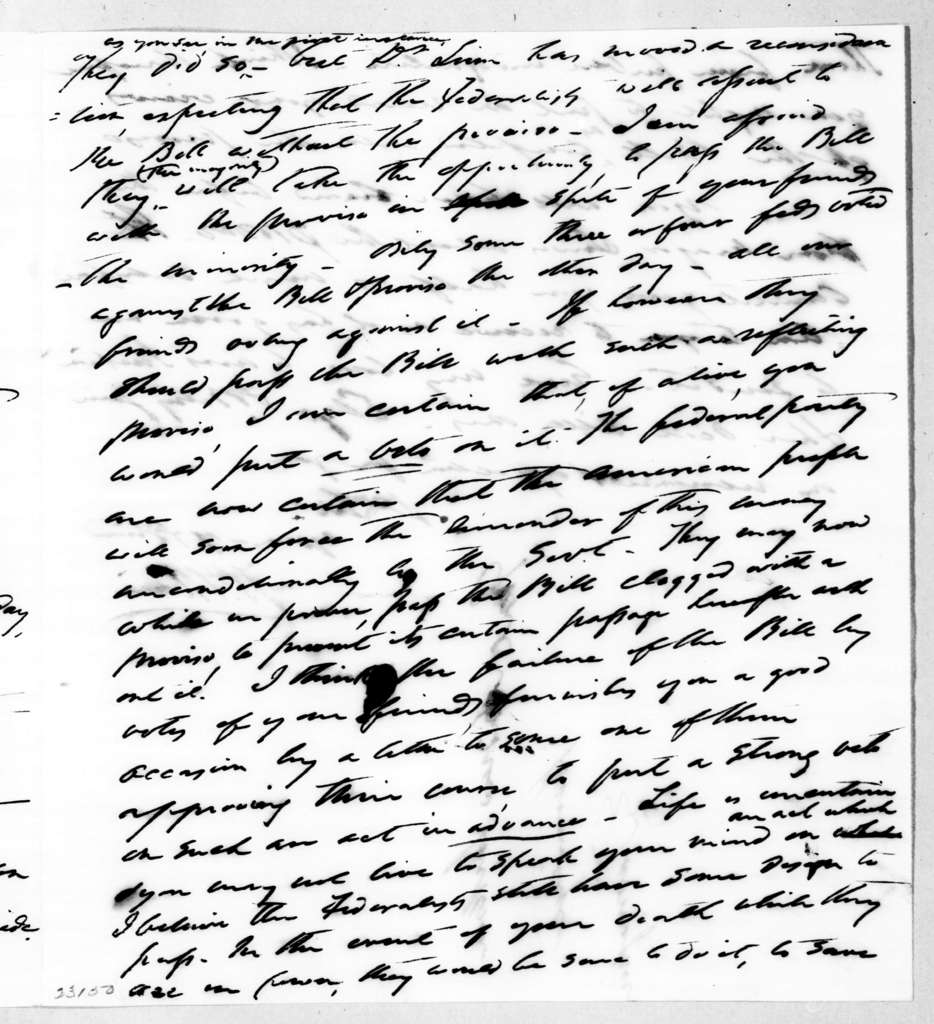 Francis Preston Blair to Andrew Jackson, May 24, 1842