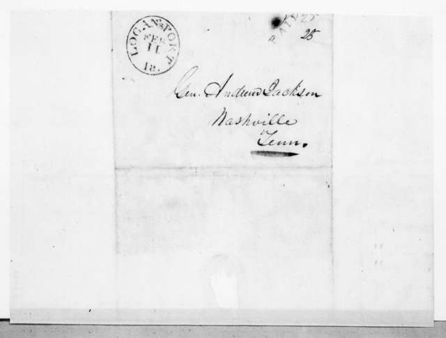 George P. Clem to Andrew Jackson, February 10, 1842
