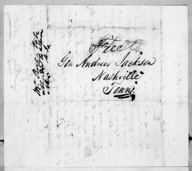 Henry E. Riell to Andrew Jackson, August 4, 1842