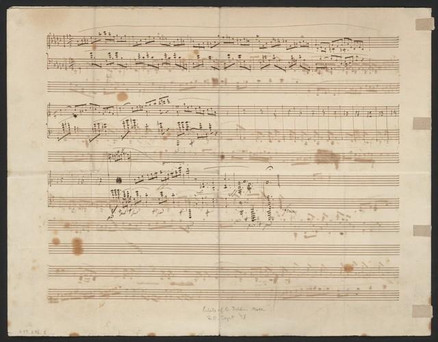 Impromptu pour le pianoforte, oev. 51 dedié à Madame la Comtesse Esterházy née Comtesse Batthyany