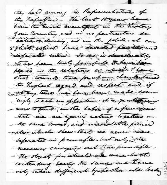 James Gadsden to Andrew Jackson, July 20, 1842