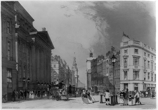 Mansion House, Cheapside &c. / T. Shotter Boys, del. et lith.