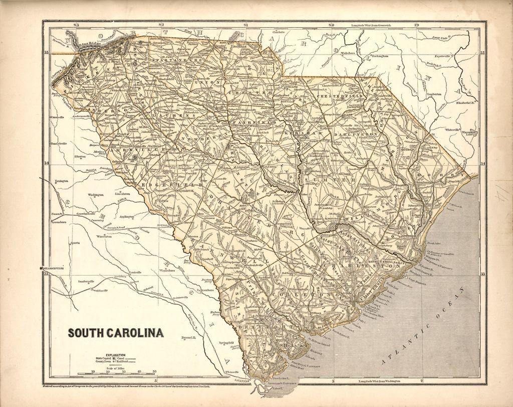 Morse's North American atlas.
