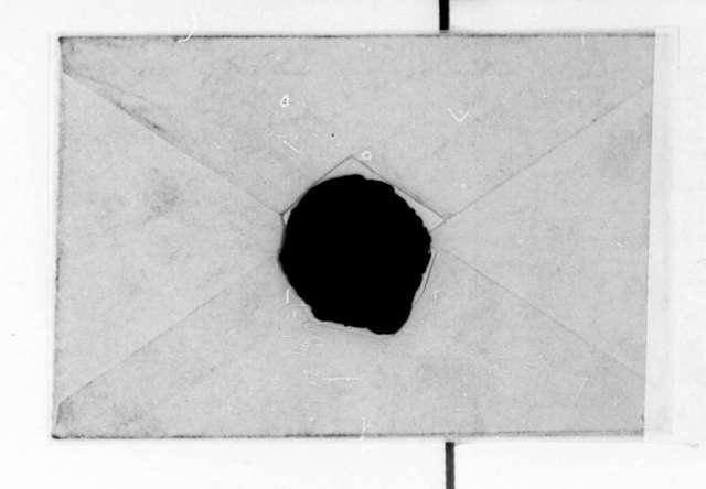 Richard Rush to Dolley Payne Madison, May, 1842. Envelope.