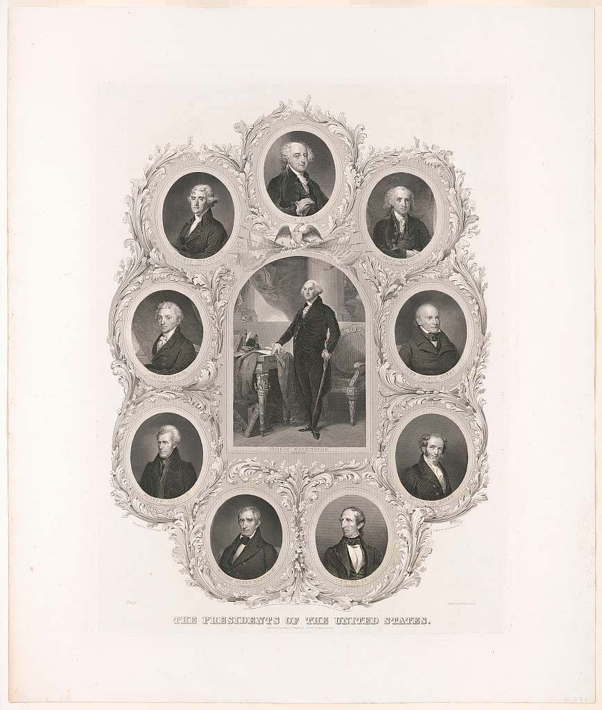 The presidents of the United States designed by C.H.H. Billings ; engraved by D. Kimberly