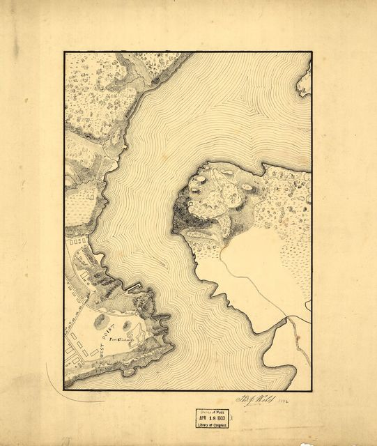 [Topographic map of West Point, Constitution Island, and vicinity, N.Y.] /