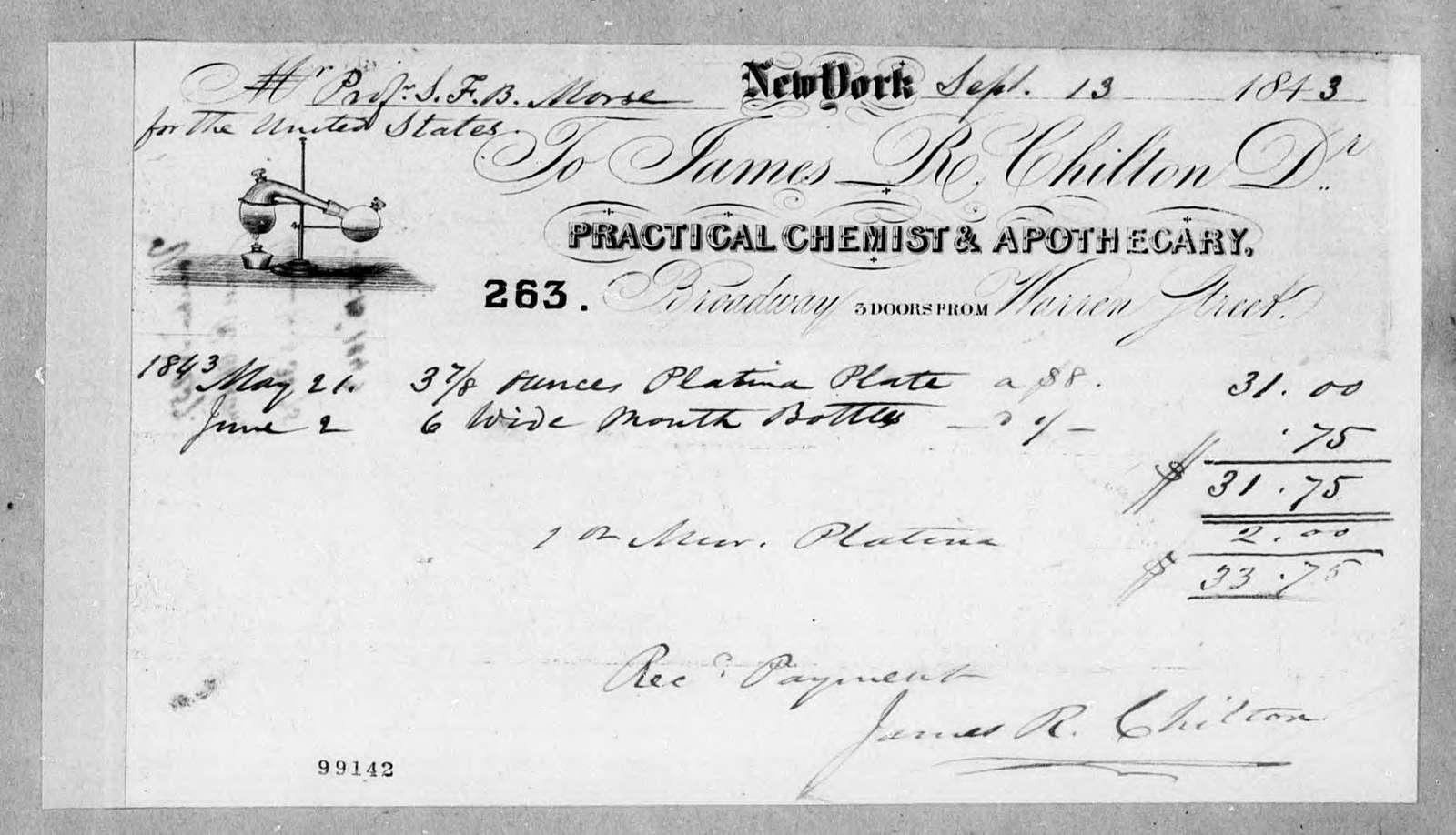 Bound volume---13 September 1843-13 January 1844