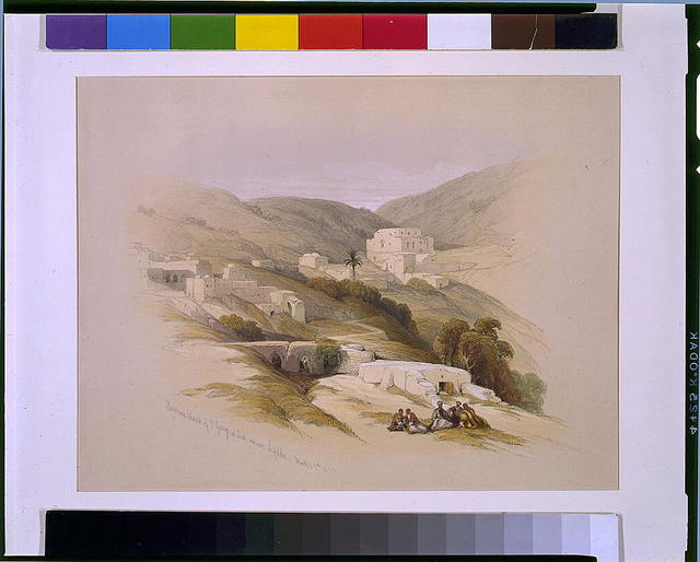 Christian Church of St George at Lud ancient Lydda March 29 1839 / David Roberts, R.A.