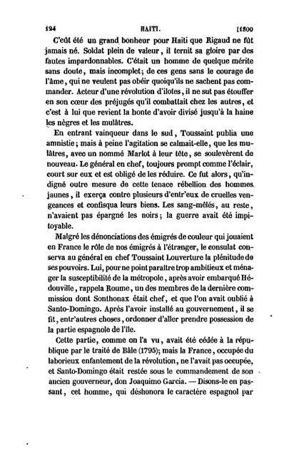 Colonies étrangères et Haiti, résultats de l'émancipation anglaise;